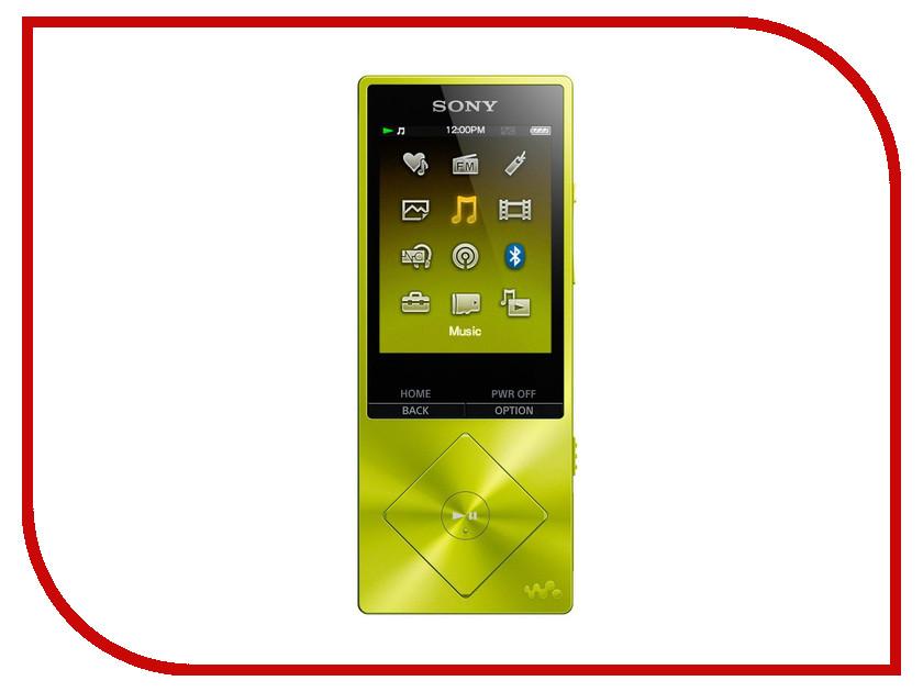 Плеер Sony Walkman NW-A25HN - 16Gb Yellow