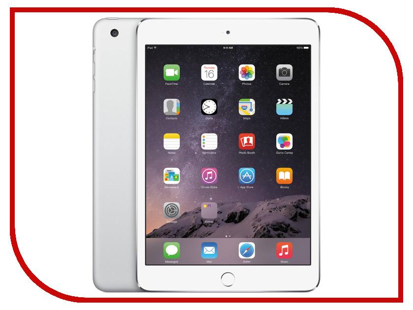 Планшет APPLE iPad mini 4 16Gb Wi-Fi Silver MK6K2RU/A<br>