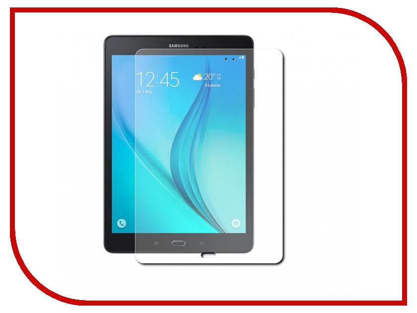 Аксессуар Защитная пленка Samsung Galaxy Tab A 9.7 Red Line матовая