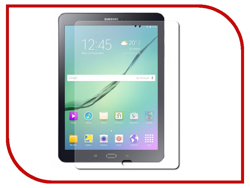 Аксессуар Защитная пленка Samsung Galaxy Tab S2 9.7 Red Line защитная пленка partner для samsung galaxy tab 2 7 0