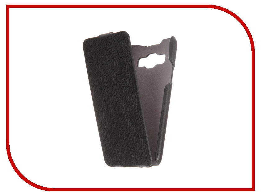Аксессуар Чехол Samsung Galaxy A3 iBox Premium Black<br>