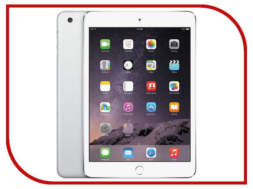 Планшет APPLE iPad mini 4 64Gb Wi-Fi Silver MK9H2RU/A