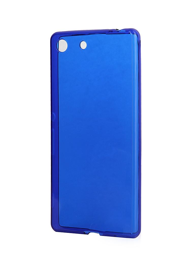 Аксессуар Чехол-накладка Sony Xperia M5 iBox Crystal Blue<br>