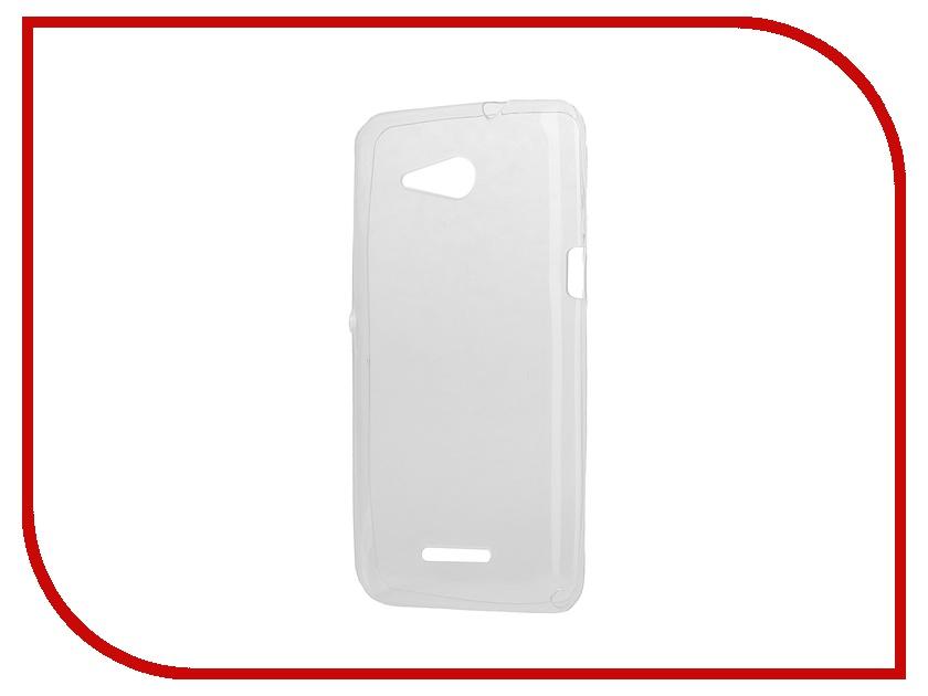 Аксессуар Чехол-накладка Sony Xperia E4G Dual iBox Crystal Transparent<br>