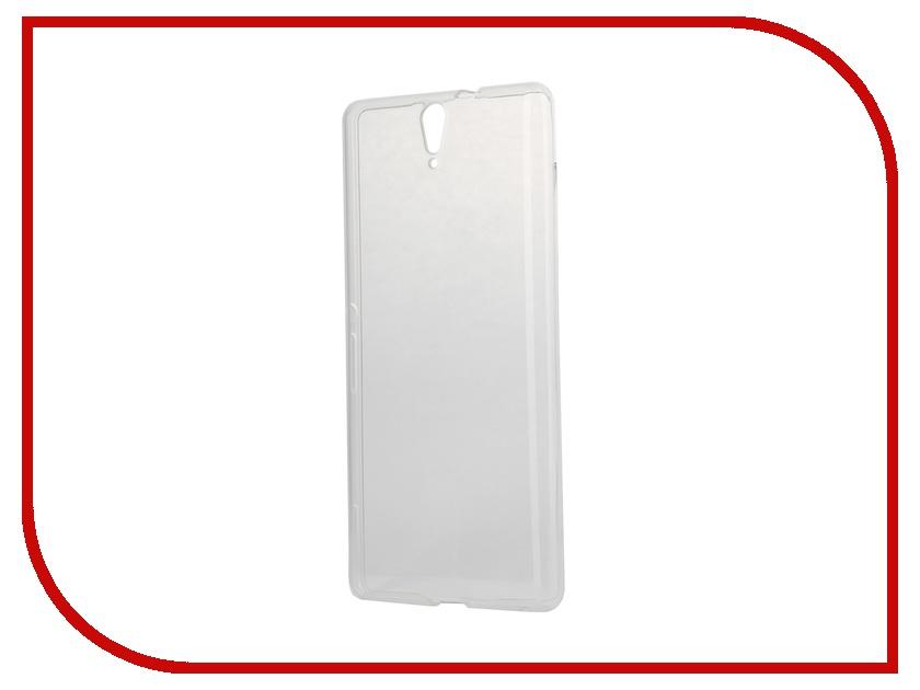 Аксессуар Чехол-накладка Sony Xperia C5 Ultra iBox Crystal Transparent<br>