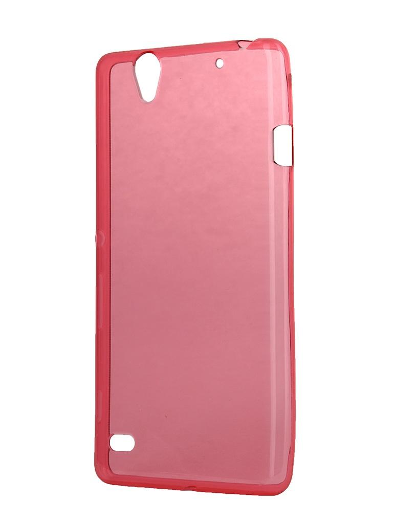 Аксессуар Чехол-накладка Sony Xperia C4 iBox Crystal Red<br>