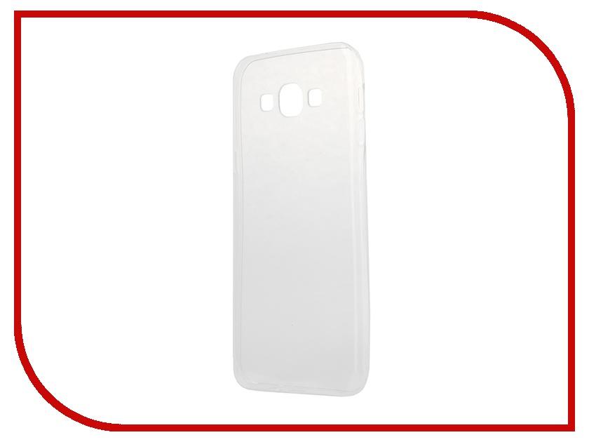 Аксессуар Чехол-накладка Samsung Galaxy A8 iBox Crystal Transparent