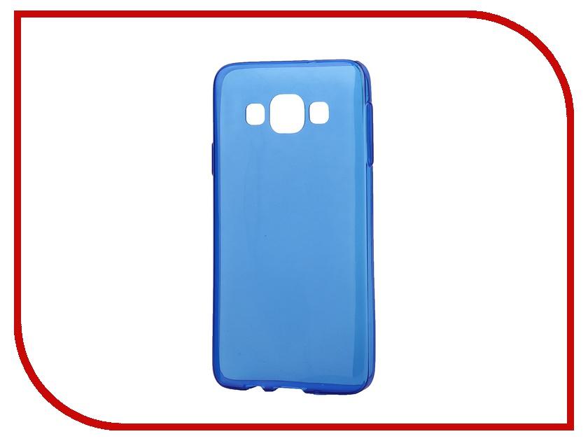 Аксессуар Чехол-накладка Samsung Galaxy A3 iBox Crystal Blue<br>