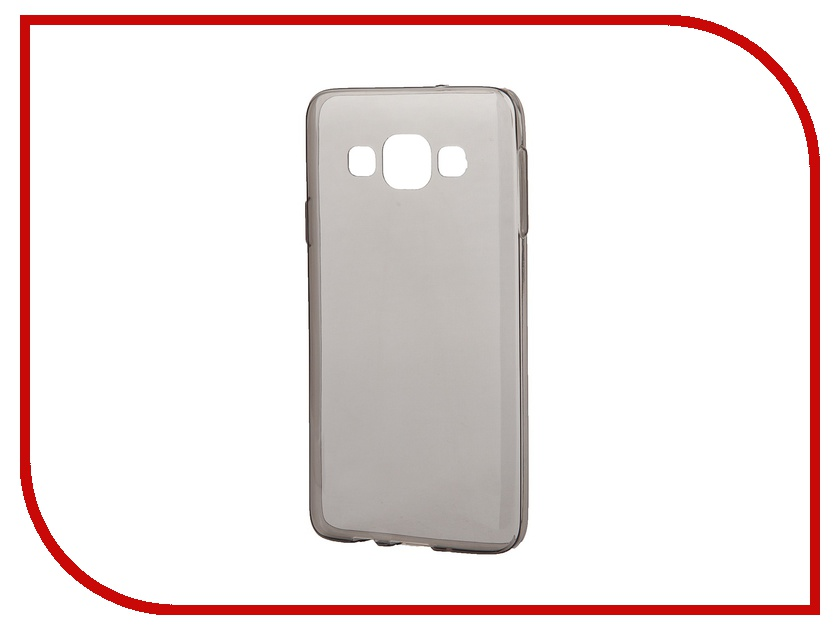 Аксессуар Чехол-накладка Samsung Galaxy A3 iBox Crystal Grey<br>