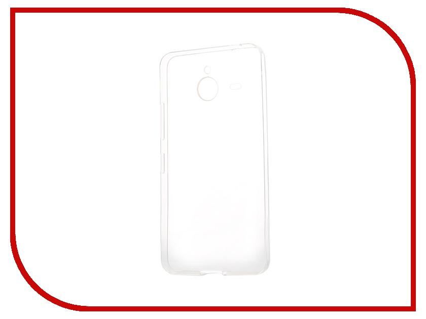 Аксессуар Чехол-накладка Microsoft Lumia 640 XL iBox Crystal Transparent