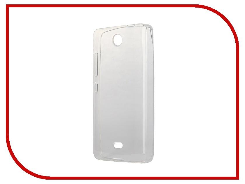 Аксессуар Чехол-накладка Microsoft Lumia 430 iBox Crystal Transparent