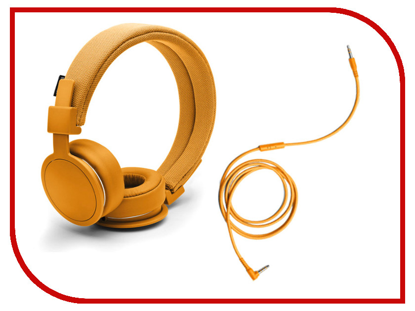 Гарнитура Urbanears Plattan ADV Bonfire Orange<br>