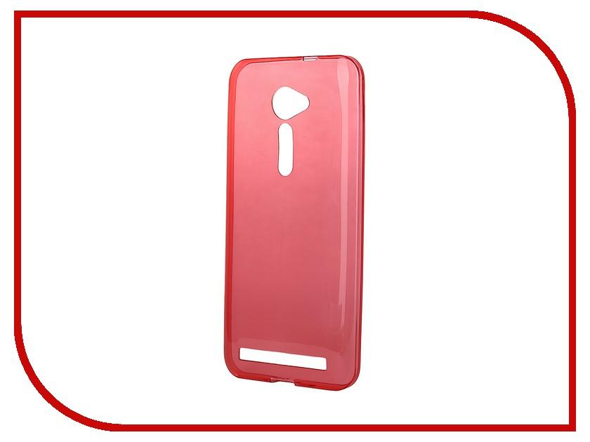 ��������� �����-�������� ASUS Zenfone 2 ZE500CL iBox Crystal Red