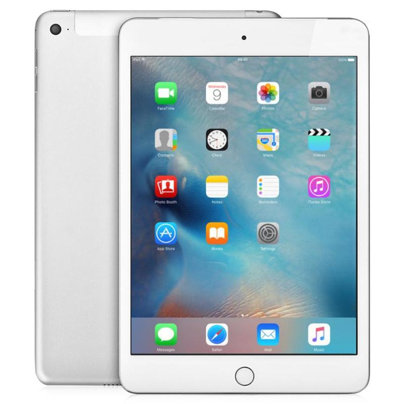 Планшет APPLE iPad mini 4 128Gb Wi-Fi + Cellular Silver MK772RU/A