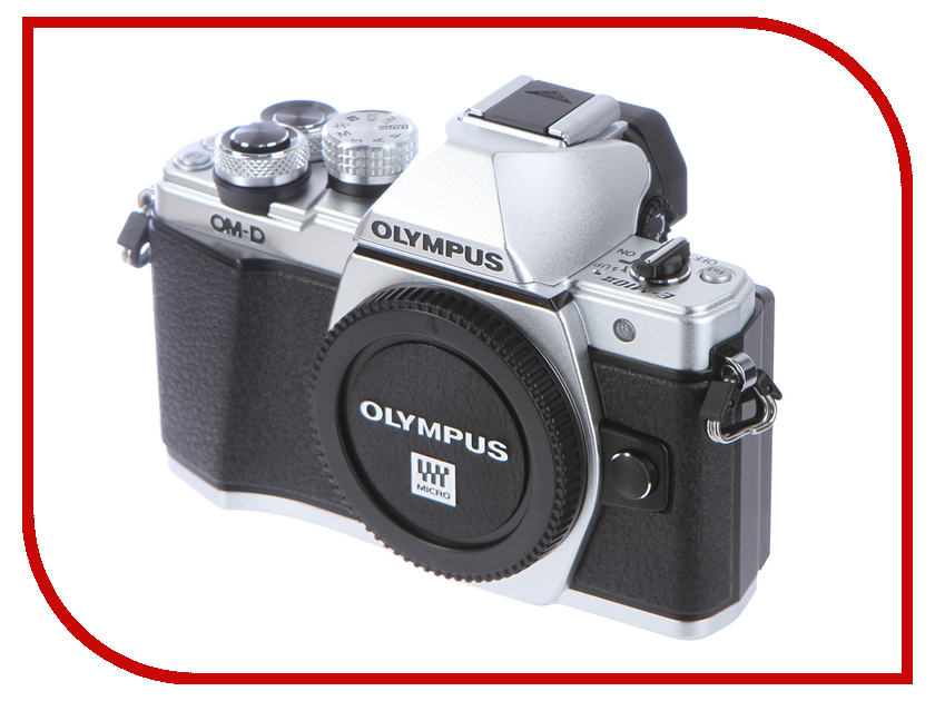 Фотоаппарат Olympus OM-D E-M10 Mark II Body Silver цифровой фотоаппарат со сменной оптикой olympus om d e m10 bk 40 150 r kit with wrapping case