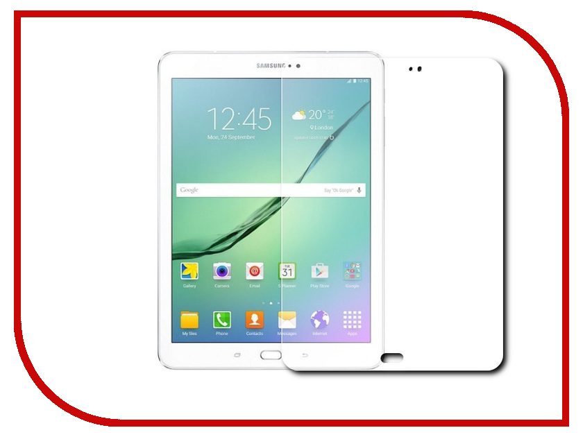 Аксессуар Закаленное стекло Samsung Galaxy Tab S2 8 DF sSteel-32