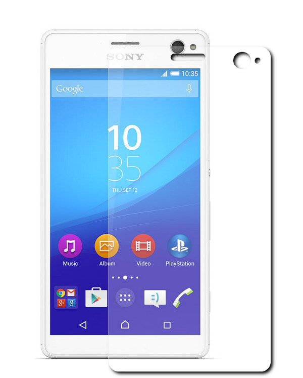 ��������� �������� ������ Sony Xperia C4 Red Line Tempered Glass