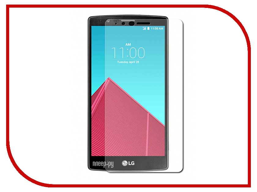 Аксессуар Защитное стекло LG G4 Red Line Tempered Glass