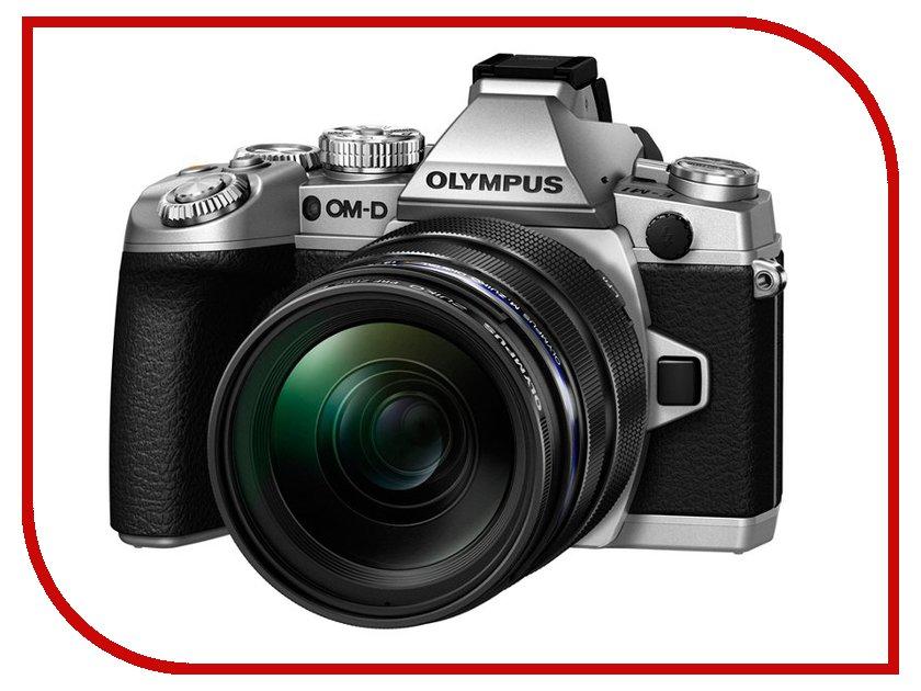 Фотоаппарат Olympus OM-D E-M1 Kit ED 12-40 mm f/2.8 PRO Silver