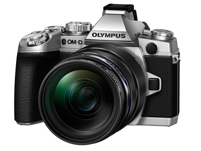 Фотоаппарат Olympus OM-D E-M1 Kit ED 12-40 mm f/2.8 PRO Silver<br>