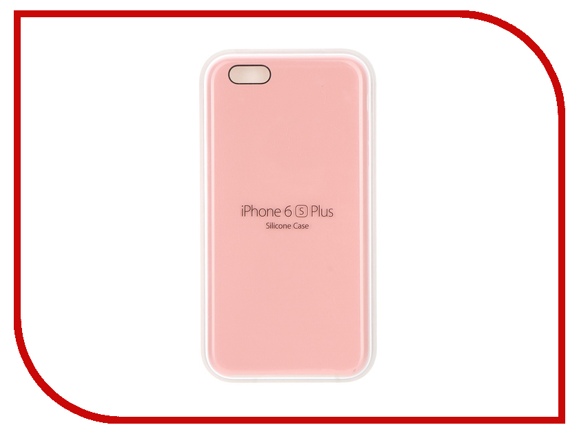 Аксессуар Чехол APPLE iPhone 6S Plus Silicone Case Pink MLCY2ZM/A<br>