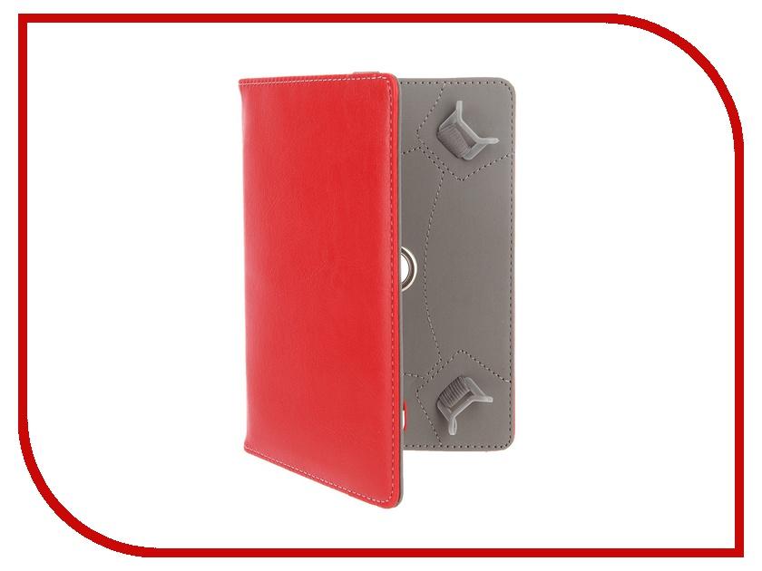 Аксессуар Чехол 7-inch Red Line двусторонний универсальный Red<br>