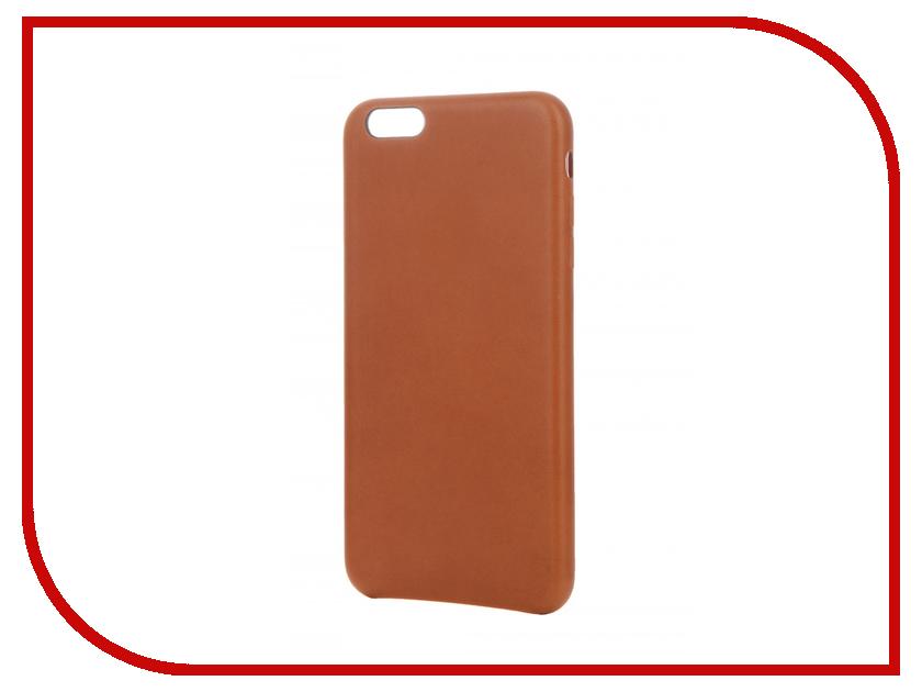 Аксессуар Чехол APPLE iPhone 6S Plus Leather Case Saddle Brown MKXC2ZM/A<br>