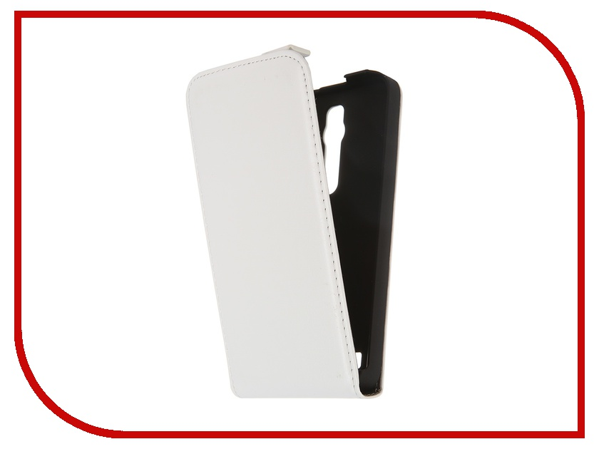 Аксессуар Чехол ASUS ZenFone 2 ZE551ML / ZE550ML Red Line White