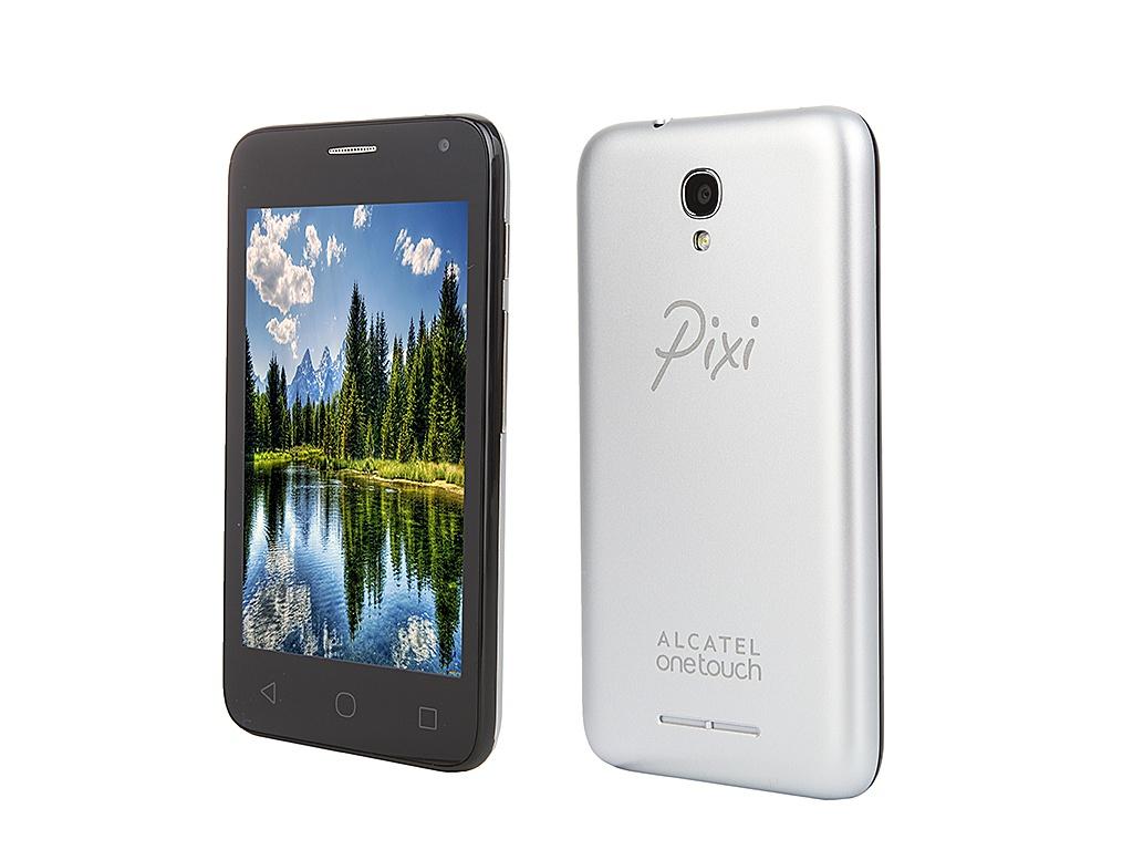 Сотовый телефон Alcatel OneTouch 4024D PIXI First Metall Silver
