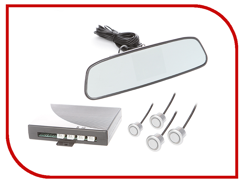 Парктроник SVS LED-027VFD-4 Silver парктроник svs led 027vfd 4 silver