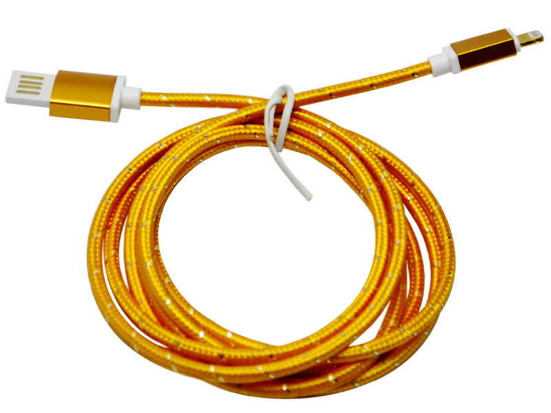 Аксессуар WIIIX USB - 8-pin 1.5m CB110-U8-15GD Gold