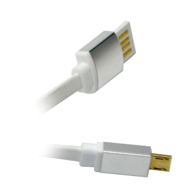 Аксессуар WIIIX USB to microUSB 1m CB120-UMU-10S Silver
