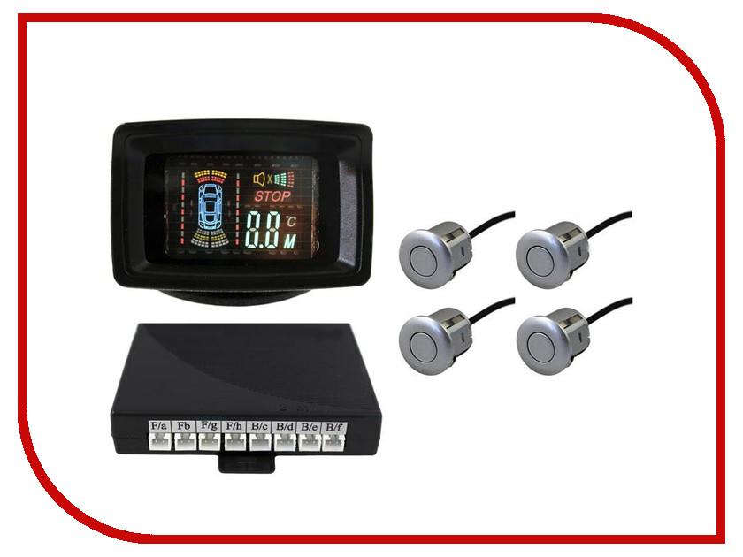 Парктроник SVS LCD-088-4 Silver<br>