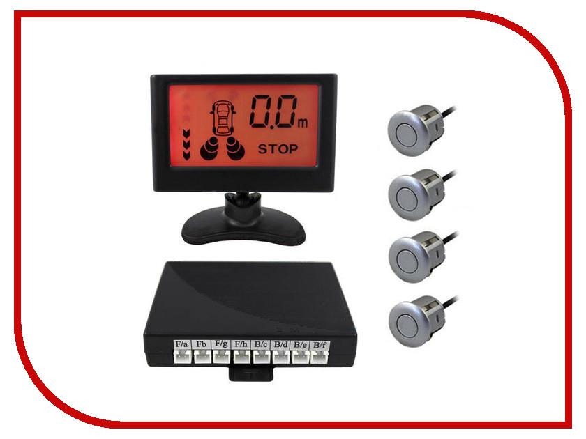 Парктроник SVS LCD-058-4 Silver