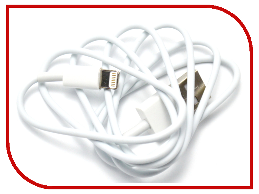 Аксессуар WIIIX USB - 8-pin 1m CB010-U8-10W White<br>