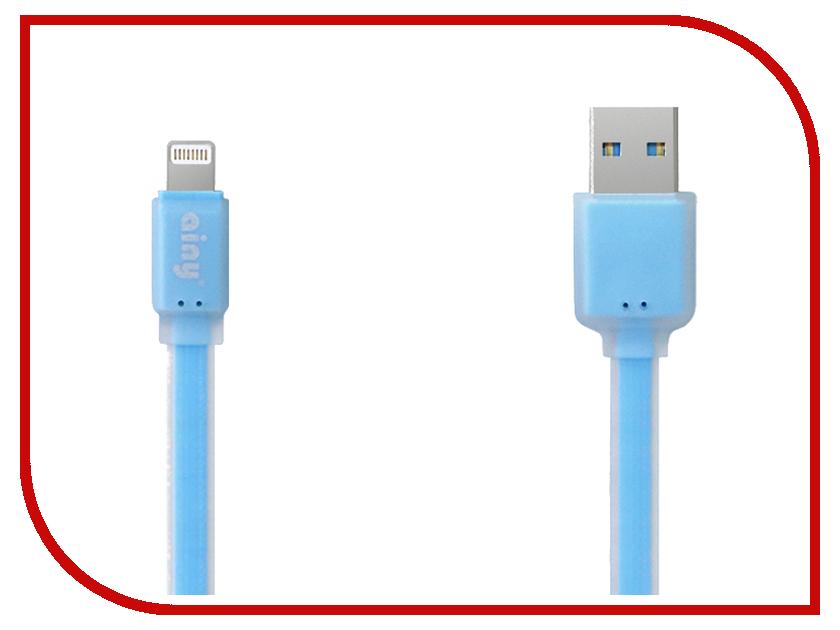 Аксессуар Ainy FA-032F для iPhone 5 / 5S / 5C / 6 / 6 Plus / iPad mini Blue<br>