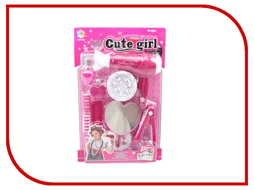Игра Shantou Gepai Набор парикмахерских инструментов Cute Girl WY331-2<br>