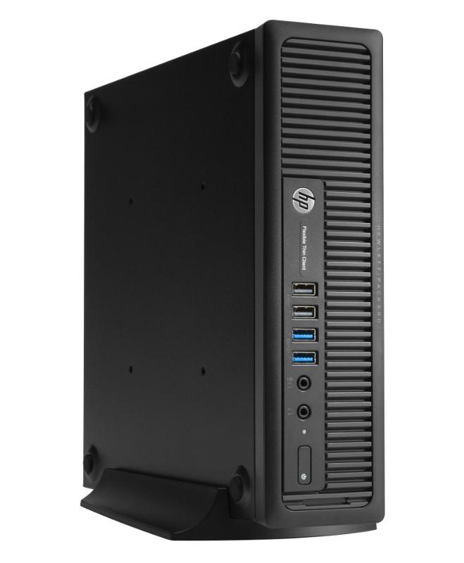 Неттоп HP T820 Thin Client F0U78EA (Intel Core i5-4570S 2.9 GHz/4096Mb/16Gb SSD/Intel HD Graphics 4600/Windows Embedded Standard 7 32-bit)