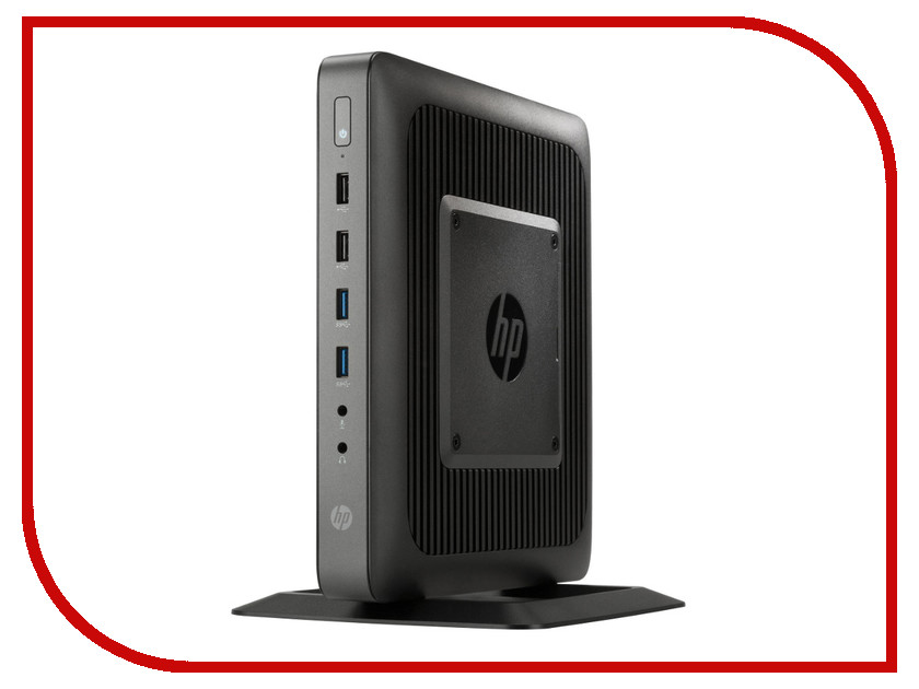 Неттоп HP T620 G6F23AA (AMD GX-420CA 2.0 GHz/4096mb/8Gb SSD/AMD Radeon HD8400E/HP ThinPro 32)<br>