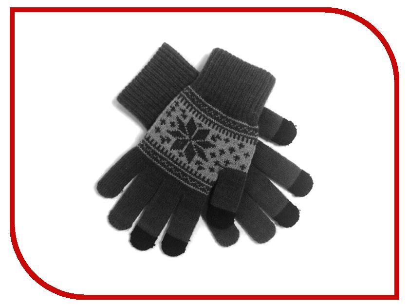 Теплые перчатки для сенсорных дисплеев Экспедиция GlovesSN-08 Grey