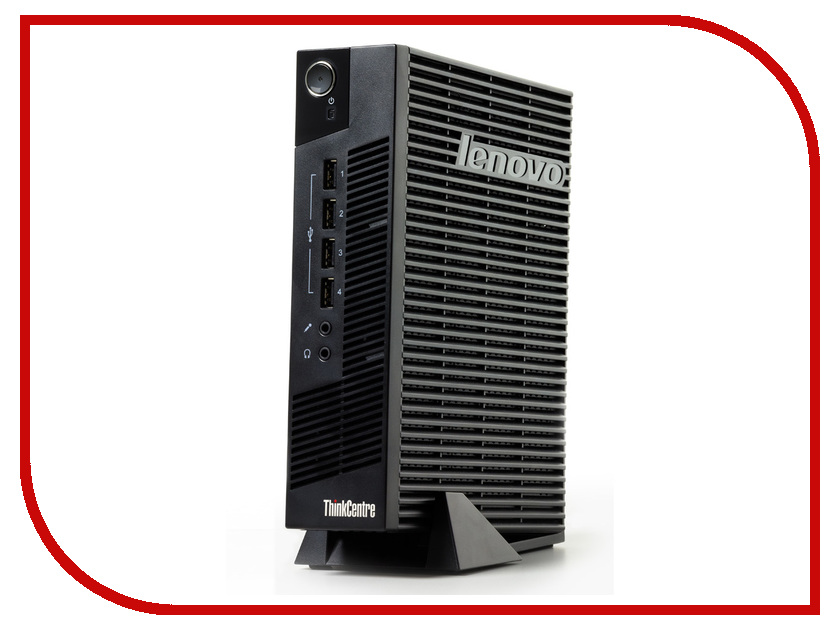 Неттоп Lenovo ThinkCentre M32 10BM0018RK (Intel Celeron 847 1.1 GHz/2048Mb/8Gb Flash/Windows Embedded Standard 7 32-bit)Настольные компьютеры<br><br>