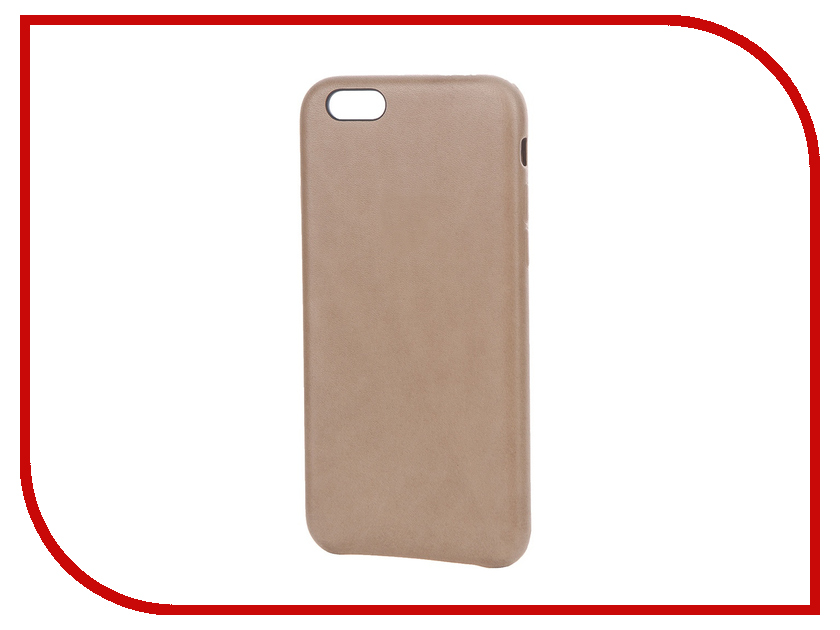 Аксессуар Чехол APPLE iPhone 6S Leather Case Brown MKXR2ZM/A<br>