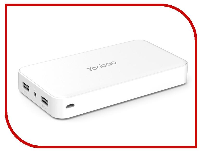 Аккумулятор Yoobao YB-M16 16000 mAh YB-S8 White<br>
