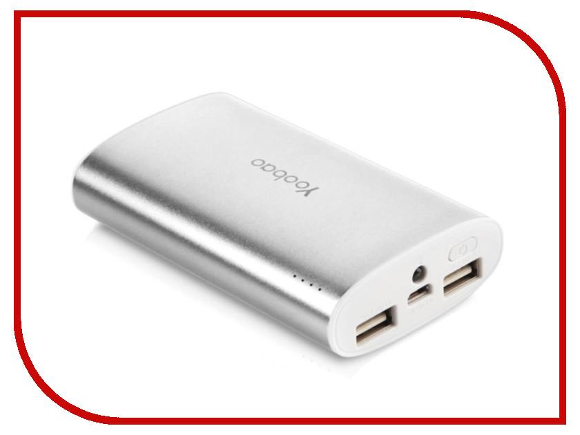 Аккумулятор Yoobao YB-6013Pro 10200 mAh Silver<br>