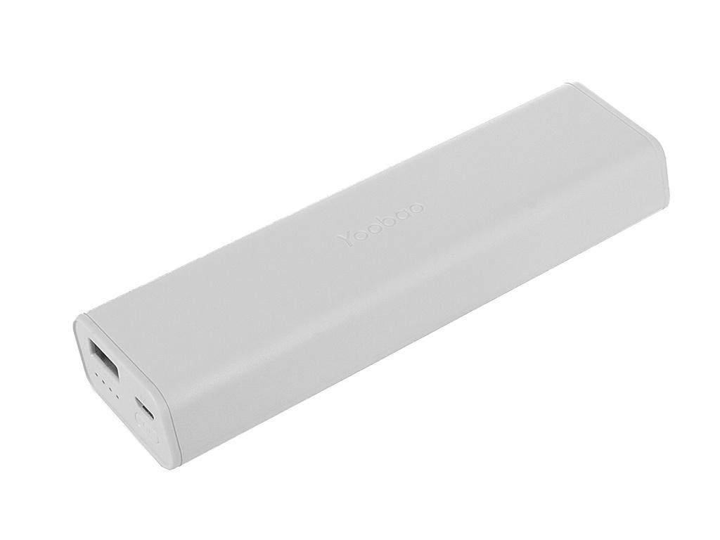 Аккумулятор Yoobao 10400 mAh YB-6004 White<br>