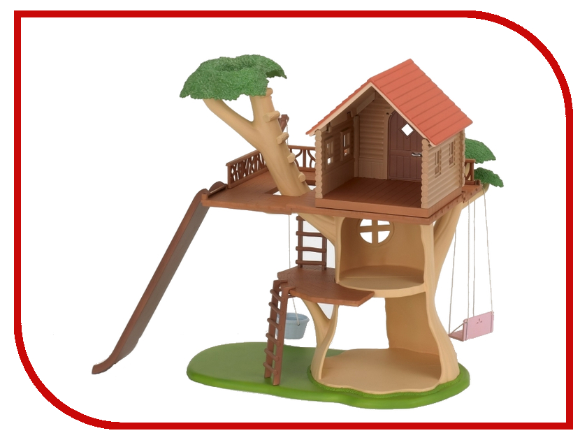 Игра Sylvanian Families Дерево-дом 2882 игра sylvanian families круизный корабль 5206