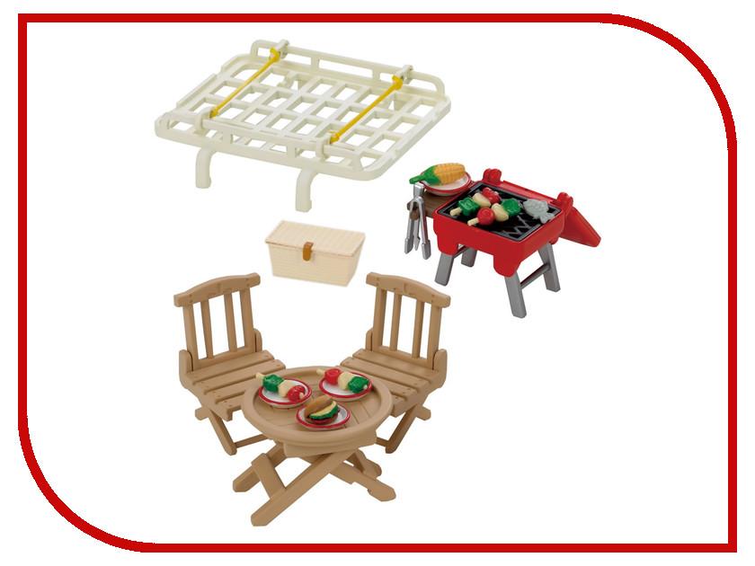 Игра Sylvanian Families Семейный пикник, с багажником для красного автомобиля 2884<br>