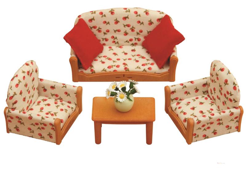 Игровой набор Sylvanian Families Мягкая мебель для гостиной 2922