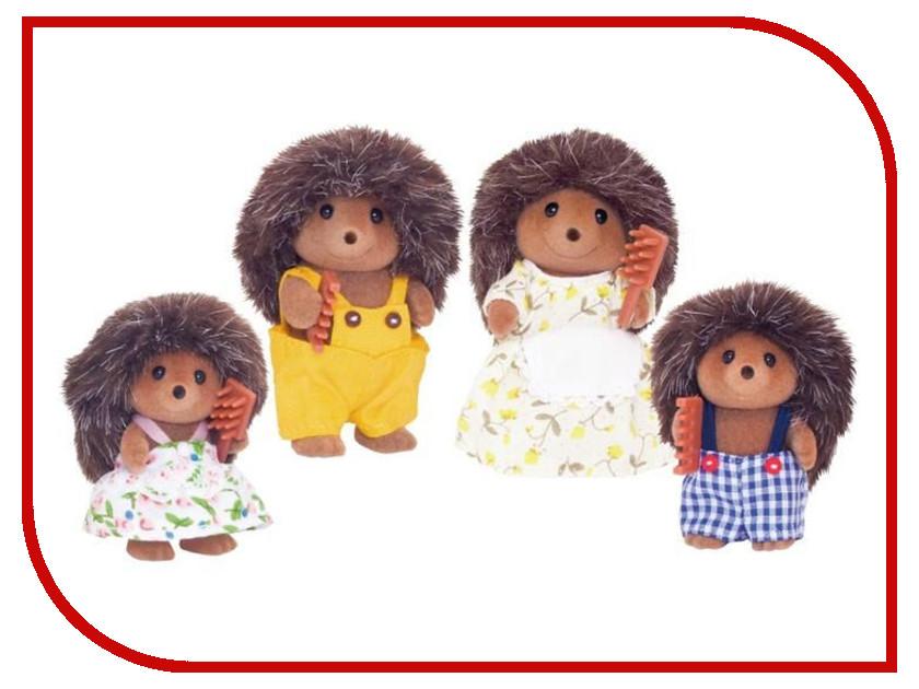 Игрушка Sylvanian Families Семья Ежиков 3122 игрушка sylvanian families семья чёрно белых котов 5181
