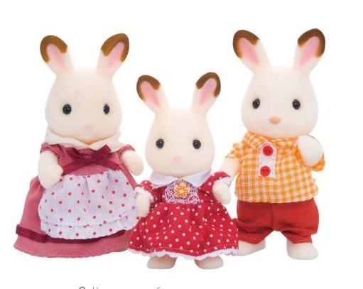 Игрушка Игровой набор Sylvanian Families Семья Шоколадных Кроликов 3125/5304